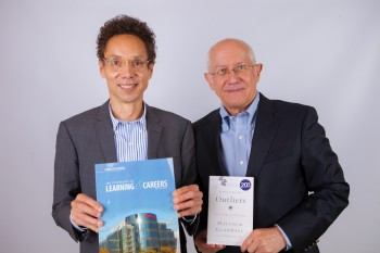 Malcolm Gladwell and Ken Sproul